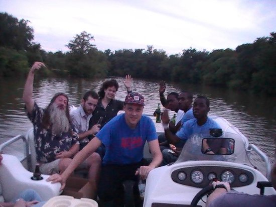 $20 Swamp Tours: Boat ride group having fun