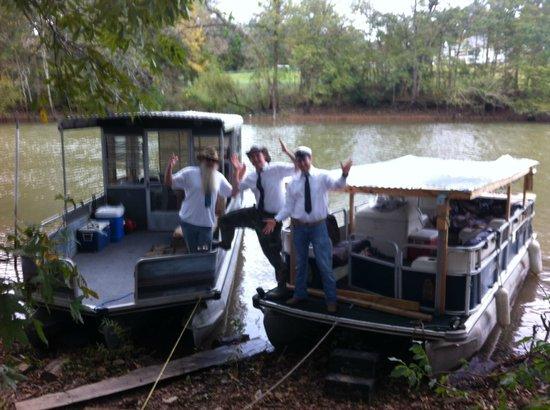 $20 Swamp Tours: Pastor Brothers Fleet and Crew