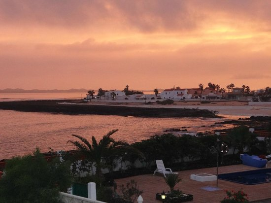 Corralejo, Spanyol:                   View from our House