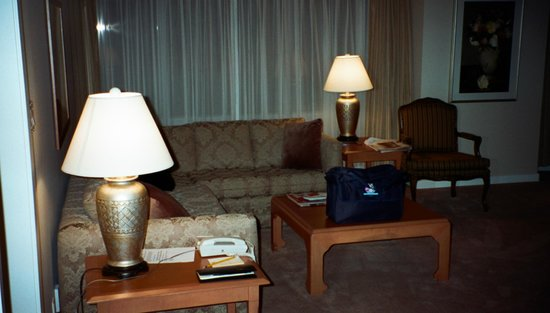 Auberge Vancouver Hotel:                   Living Room
