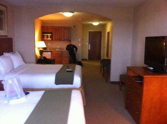 Holiday Inn Express Hotel & Suites Howell:                   huge room