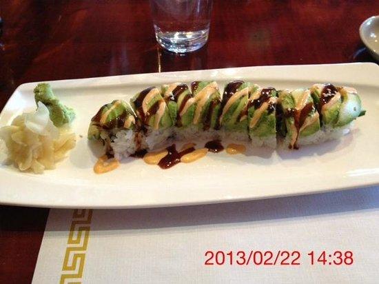 Flying Ninja Sushi and Bar:                   Catapillar was outstanding