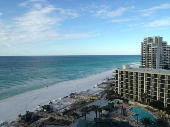 Hilton Sandestin Beach, Golf Resort & Spa: View from 12th floor