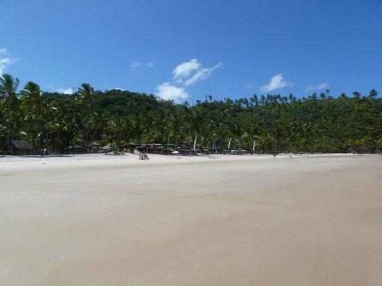 Itacarezinho Beach :                   Itacarezinho, visão do restaurante