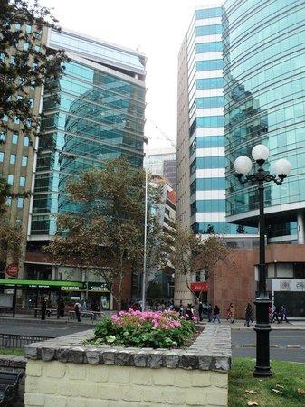 RQ Santiago:                   localização do Hotel