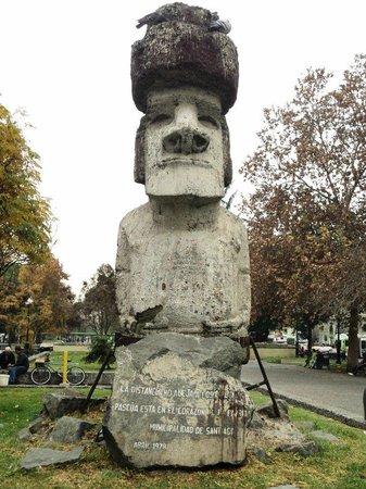 RQ Santiago:                   passeio que podem ser feitos a pé a pontos turísticos e monumentos