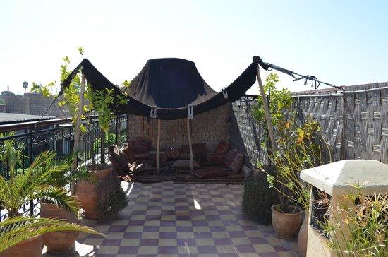 Hotel Sherazade :                   terrace