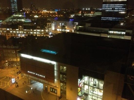 Renaissance Manchester City Centre Hotel:                   view from the room