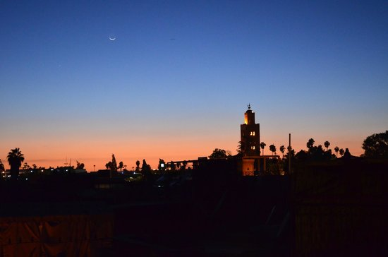 Hotel Sherazade :                   View of Marrakesh from the terrace