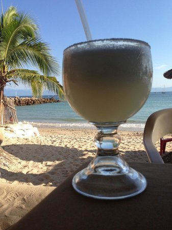The St. Regis Punta Mita Resort:                   Margarita on the Beach