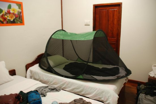 Monsovanh Guesthouse:                   Twin room on first floor