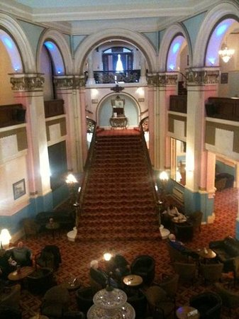 Grand Hotel Scarborough:                   The grand staircase