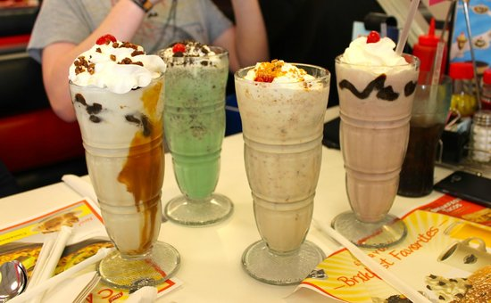 Steak 'n Shake: So many to choose from...