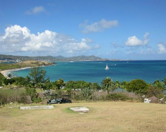 The Buccaneer -- St Croix:                   View from the grounds