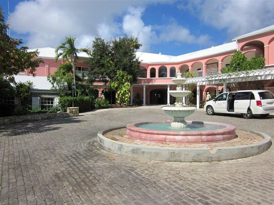 The Buccaneer -- St Croix:                   The main entrance