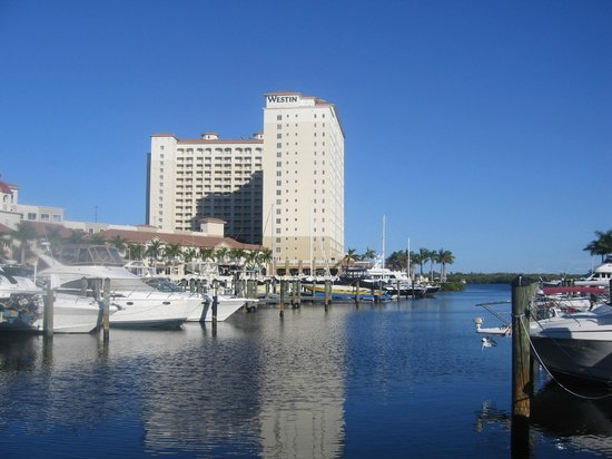 The Westin Cape Coral Resort At Marina Village:                   From water taxi