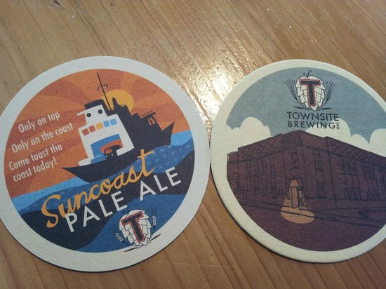 Townsite Brewing Inc:                   Coasters