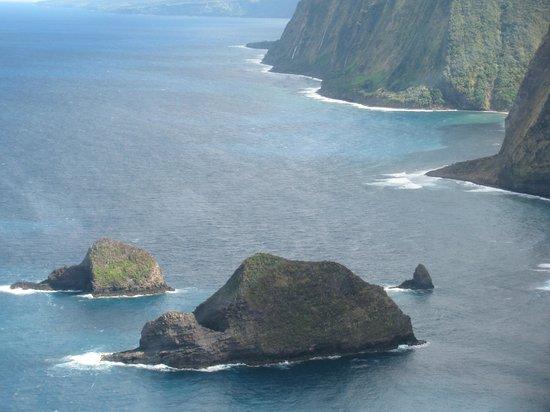 Blue Hawaiian Helicopters - Waikoloa:                   Pristine coastline