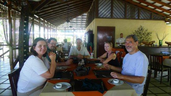 Manatus Hotel: Restaurant