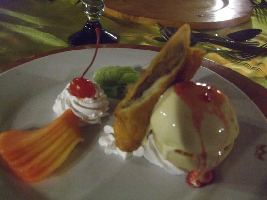 ClubHotel Riu Tequila:                   yummy dessert on our special evening