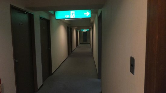 City Park Hotel Hachinohe:                   廊下