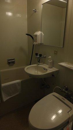 City Park Hotel Hachinohe:                   バスルーム