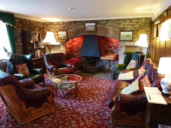The Wheatsheaf in Wensleydale:                   Residents Lounge