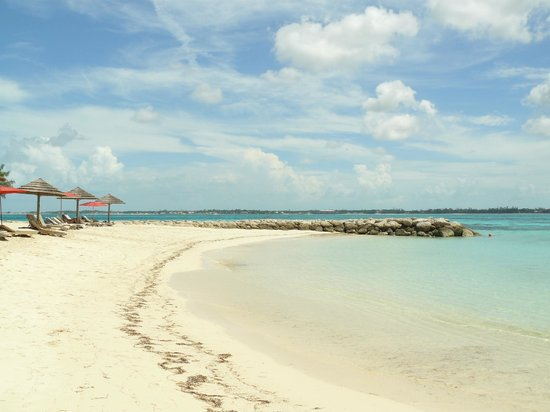 Sandals Royal Bahamian Spa Resort & Offshore Island:                   Private island beach