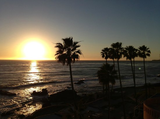 Las Rosas Hotel & Spa: Sunset View