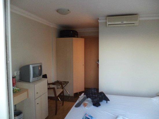 Triton Hotel :                   Kamer