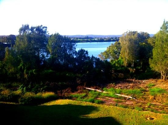 Riverview Motor Inn:                   The view from our room