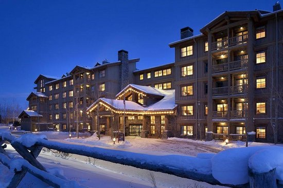 Teton Mountain Lodge & Spa- A Noble House Resort: Stay slopeside this winter for the best in alpine luxury.
