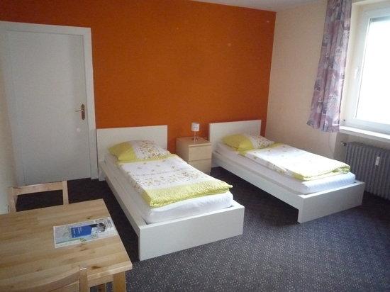 Gästehaus Grupello: Twinbettzimmer