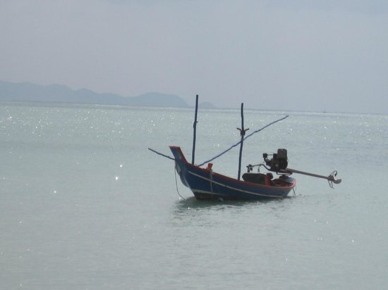 บุริ รสา เกาะพะงัน:                   Sur la plage