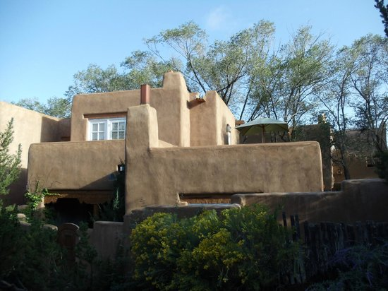 Campanilla Compound:                   Our temporary home in Santa Fe