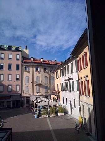 Albergo Del Duca:                   view from my room...