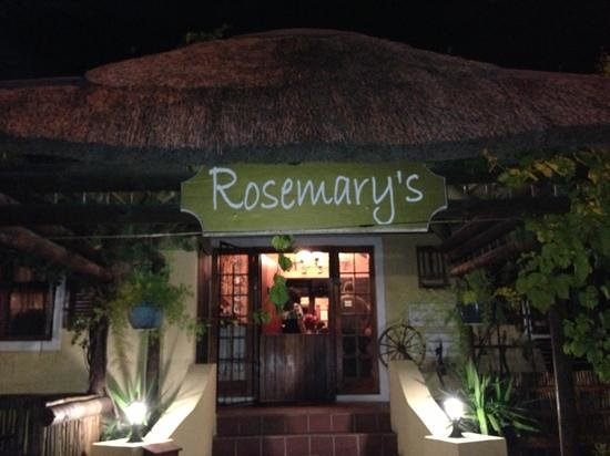 Thyme at Rosemary's Restaurant:                   Never had better!!!