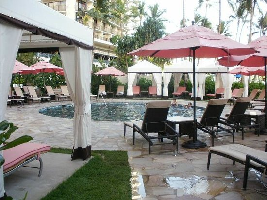 The Royal Hawaiian, a Luxury Collection Resort:                   Pool Area