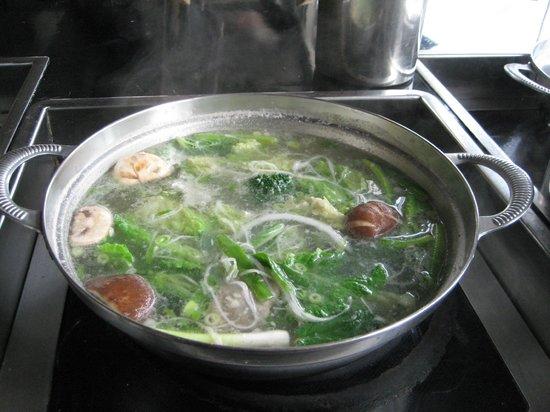 Koji's Sushi and Shabu Shabu: steamy
