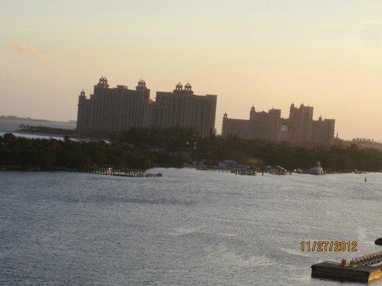 Bahamas Marine Adventure:                   View of the Atlantis Paradise Resort
