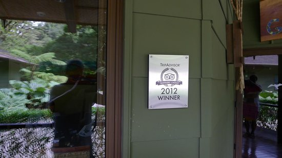 El Silencio Lodge & Spa: Auszeichnung