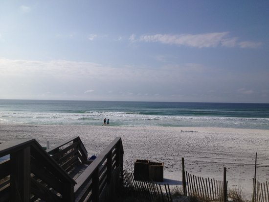 Beachside Towers at Sandestin:                   Beautiful Beach at Sandestin