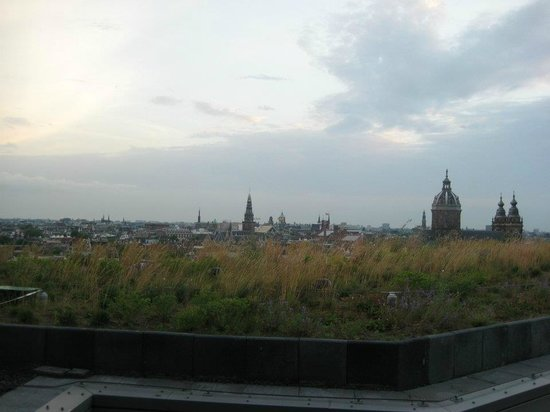 DoubleTree by Hilton Hotel Amsterdam Centraal Station:                   View from rooftop