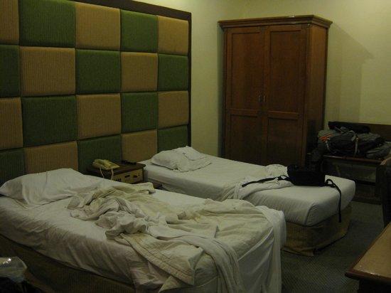 Sanno Hotel:                   chambre