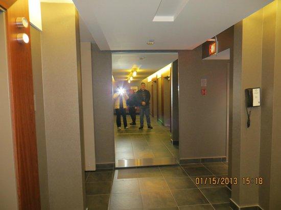 Hilton Toronto:                   hall