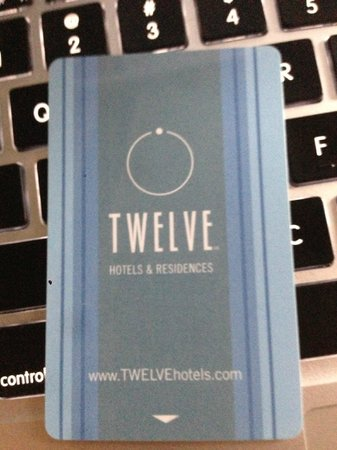 Twelve Atlantic Station:                   room key