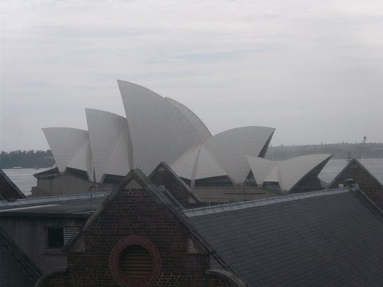 Holiday Inn Old Sydney:                   Room with a view