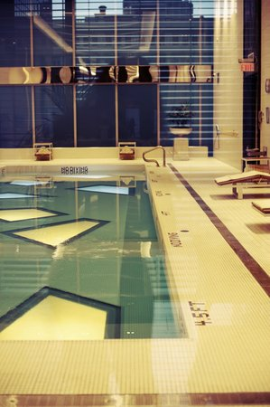 Rosewood Hotel Georgia:                   The heated indoor swimming pool