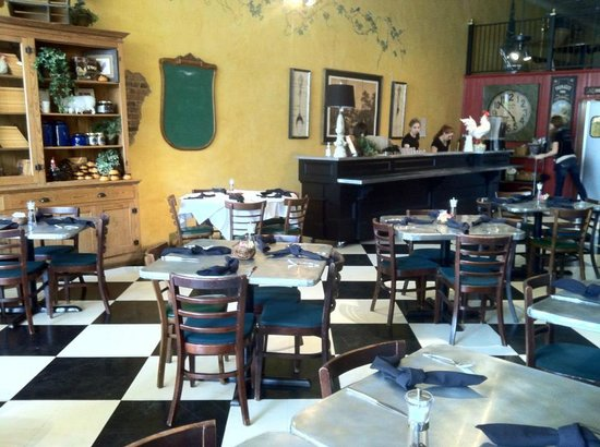 The Doves Nest Restaurant Dining Room With French Zinc Tables