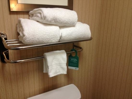 Homewood Suites by Hilton Atlantic City/Egg Harbor Township:                   fluffy clean towels
